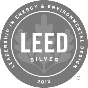 2012 Leed Silver Award Winner