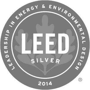 2014 Leed Silver Award Winner