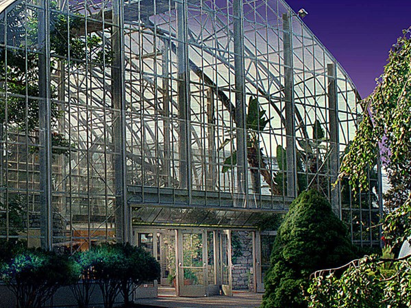 Krohn Conservatory Master Plan and Restoration